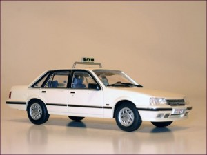 Eaglemoss 120  Opel Senator A2 1982 to1986 Taxi