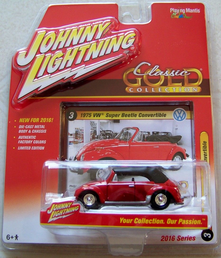 Johnny Lightning 1975 VW standard