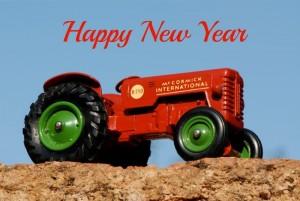 Matchbox King Size K4 McCormick International B-250 tractor