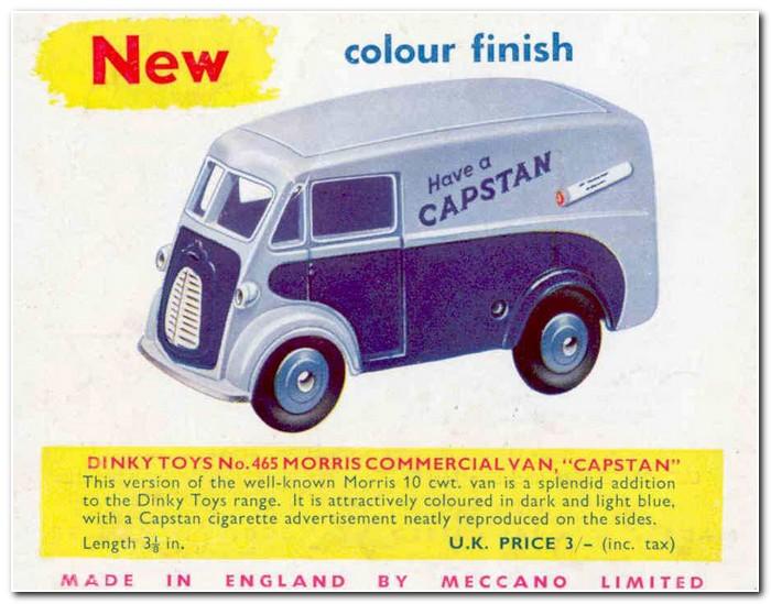 Meccano Magazine March 1957 Dinky 465 Morris J Capstan