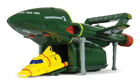 Corgi Thunderbirds 2 and 4