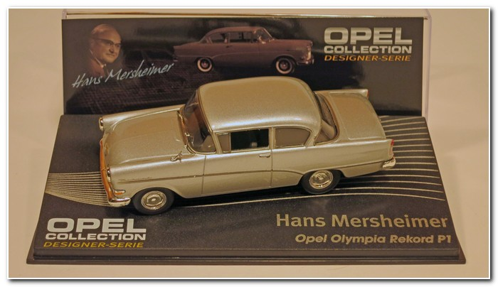 Opel Collection Olympia Rekord P1