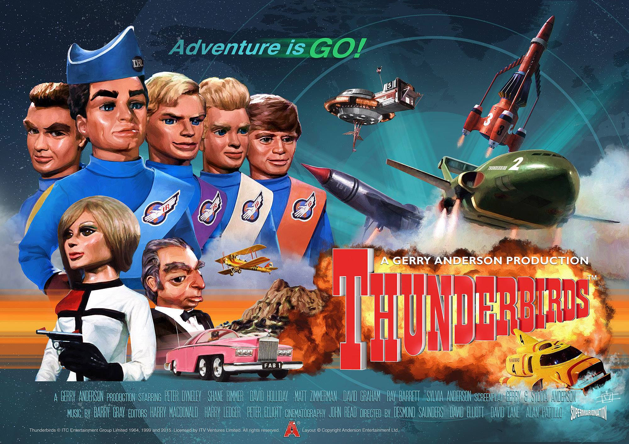 Thunderbirds Serie