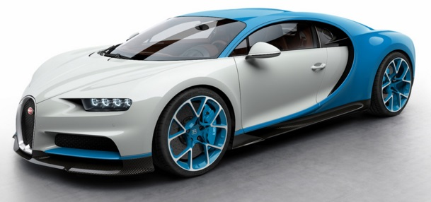 LS459A Le Patron Bugatti Light Blue Sport Scale 1 43