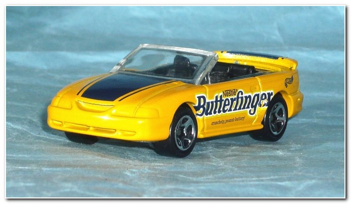 4th gen Mustang 1996 illustration 22 Mattel Hot Wheels GT Convertible (Butterfinger)