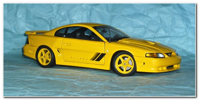 4th gen Mustang 1997 illustration 25 Auto Art Saleen coupe