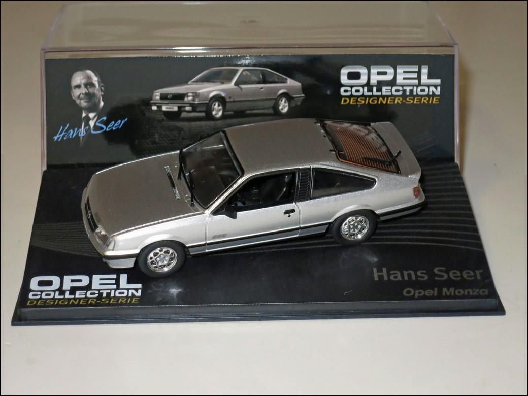 Eaglemoss Hans Seer Opel Monza