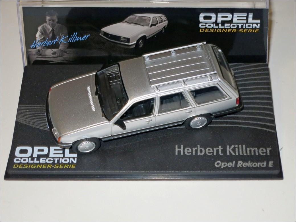 Eaglemoss Herbert Killmer Opel Rekord E