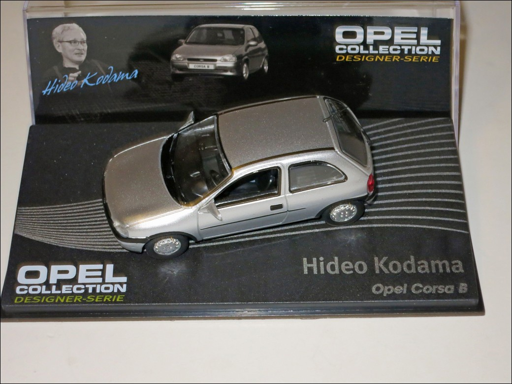 Eaglemoss Hideo Kodama Opel Corsa B
