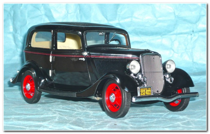 1933 Ford illustration 1 Franklin Mint