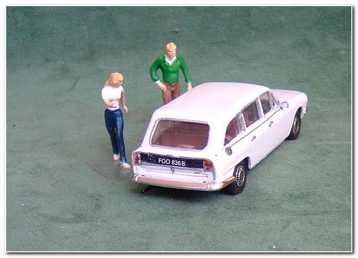 1972 Triumph 2.5 MK 2 wagon rear