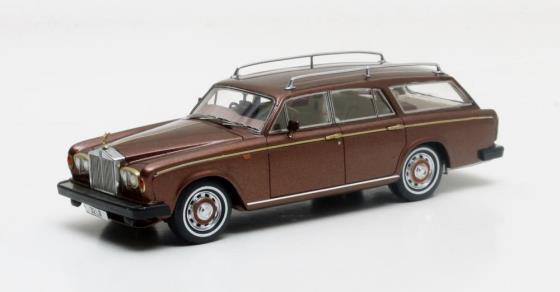 MX11705-101 FLM Panelcraft Rolls Royce Silver Shadow Estate brown metallic 1980