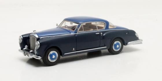 MX40201-091 Bentley MkVI Pininfarina Coupe blue and blue 1952