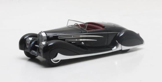 MX50205-031 Bugatti Type 57C Cabriolet VanVooren Shah of Iran black 1939