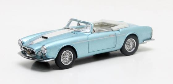 MXLM02-1311 Maserati A6G 2000 Frua Spider metallic blue 1956 LOUWMAN MUSEUM COLLECTION August