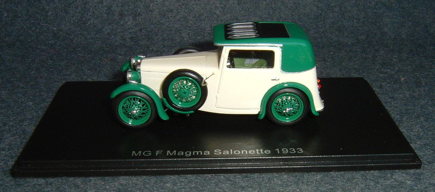 1933 MG F Magma Salonette #1