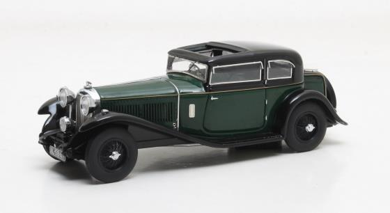 Bentley 8 Litre Mayfair Close Coupled Saloon #YX5124 black and green 1932