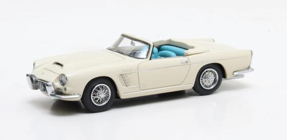 Maserati 3500 GT Spyder by Frua AM101 268 white 1957