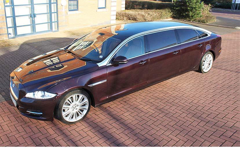 2016 Jaguar limo
