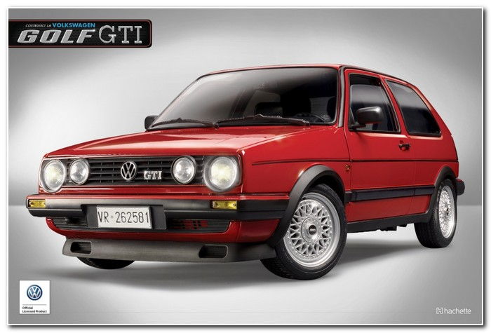 Hachette Volkswagen Golf GTI to 1 8 scale a
