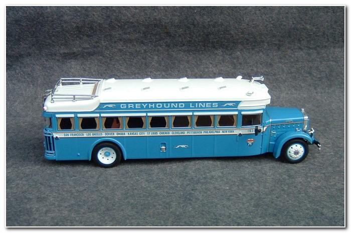 New Historic Greyhound Bus Models Mar Online