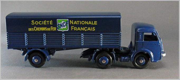 Atlas   008 Semi-Remorque S.N.C.F DINKY TOYS 32 AB Tracteur  Panhard N