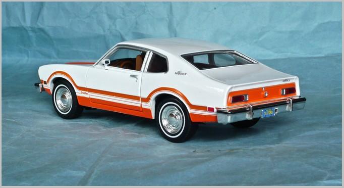 1971-72 Ford Maverick Grabber Hood Scoops Pair New