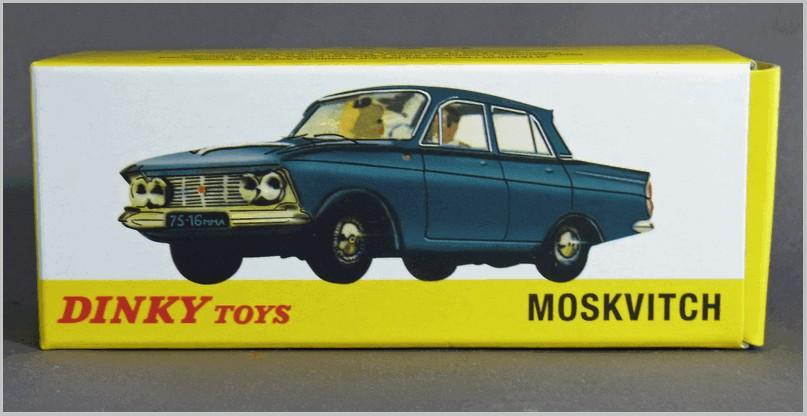 Repro box Dinky nº 1410 Moskvitch