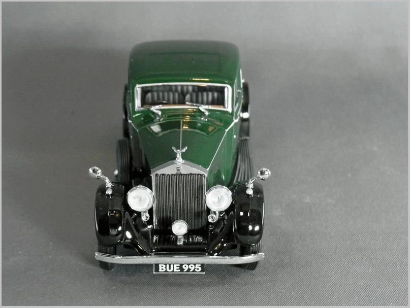 Rolls Royce 25//30 Thrupp /& Maberley 1937  Black OXFORD 1:43 OX43R25002 Model