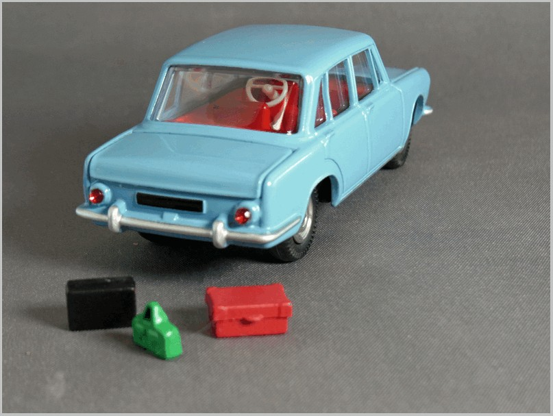 Atlas DINKY TOYS 523 SIMCA 1500 Blue Diecast Models Collection 1//43