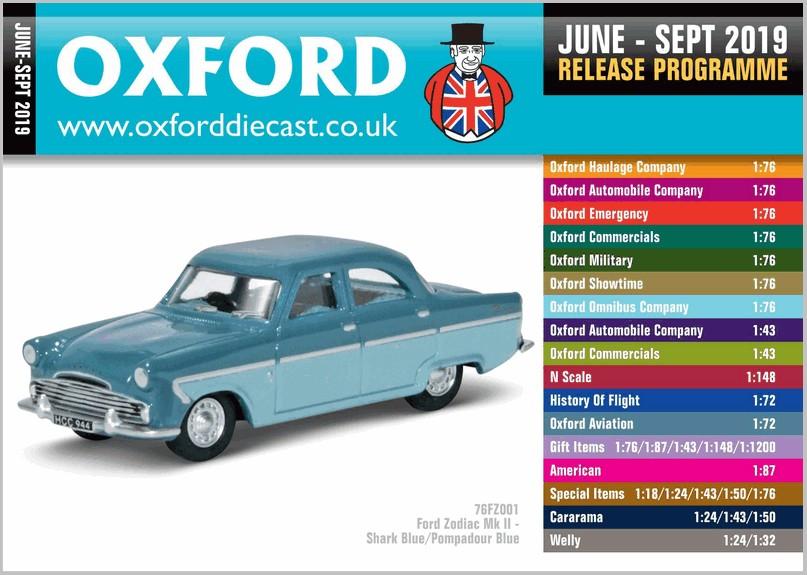 Oxford Diecast Release #2 2019 | MAR Online