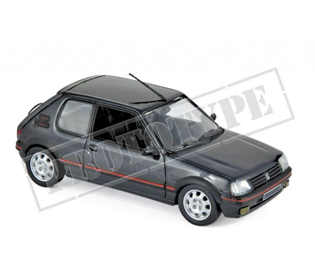 1:24 fabbri peugeot 205 GTI 1.9 red 1988 New en Premium-modelcars